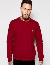 Красный свитшот с логотипом Paul Smith Jeans - Rasperberry