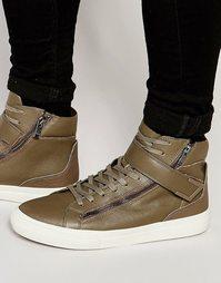 Высокие кроссовки ALDO Drabkin - Зеленый