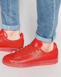 Красные кроссовки adidas Originals Stan Smith S80248 - Красный