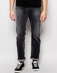 Серые прямые свободные джинсы Diesel Jeans Waykee 662U