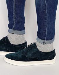 Замшевые туфли ALDO Lovelle - Темно-синий