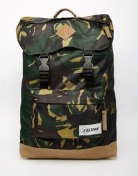 Рюкзак с камуфляжным принтом Eastpak Rowlo - Зеленый