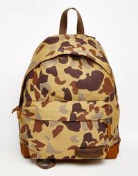 Рюкзак с камуфляжным принтом Eastpak Padded Pak'R - Бежевый