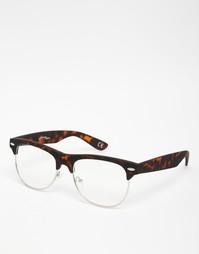 Очки с черепаховой оправой в стиле ретро Jeepers Peepers Robin
