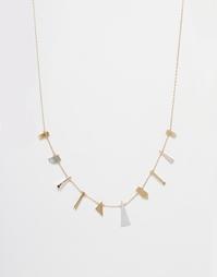 Ожерелье-цепочка с подвесками ASOS - Мульти