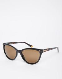 Солнцезащитные очки кошачий глаз Ted Baker Rhea - Черный