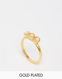 Позолоченное кольцо The 2Bandits Floyds - Золотой