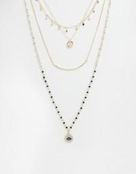 Многоярусное ожерелье Aldo Dwiradien - Золотой