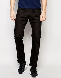 Черные прямые джинсы стретч G-Star Revend - Raw