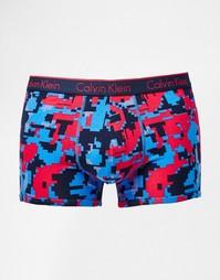 Хлопковые боксеры-брифы Calvin Klein CK One - Синий
