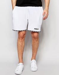 Махровые шорты с логотипом Rascals - Белый