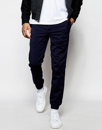 Строгие джоггеры Minimum - Navy blazer