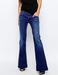 Расклешенные джинсы Replay Teena - Синий
