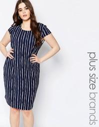 Цельнокройное платье в полоску Koko Plus - Принт