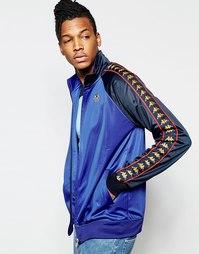 Спортивная куртка с рукавами реглан Kappa - Синий
