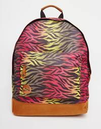 Рюкзак с принтом зебра Mi-Pac - Hot zebra rainbow
