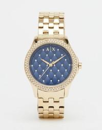 Золотистые женские часы Armani Exchange Hampton AX5247 - Золотой
