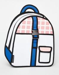 Рюкзак с пряжкой JumpFromPaper - Розовый