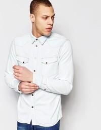 Джинсовая рубашка Nudie Jeans Jonis - Old glory