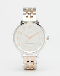 Двухцветные часы Armani Exchange Payton AX5370 - Мульти