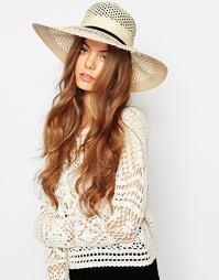 Широкополая шляпа Becksondergaard Hawa - Песок