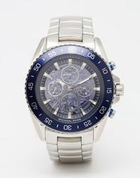 Часы с хронографом из нержавеющей стали Michael Kors Jetmaster MK9024