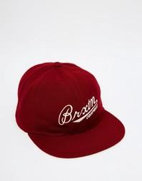 Регулируемая кепка Brixton Fenway - Красный