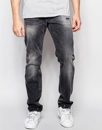 Свободные джинсы скинни True Religion Rocco - Черный