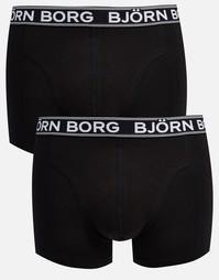 Набор из 2 боксеров-брифов Bjorn Borg - Черный