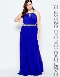 Декорированное платье макси с вырезом капелькой Forever Unique Plus