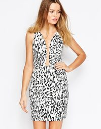 Платье с леопардовым принтом Finder Keepers The Creator