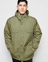 Куртка с капюшоном Fjallraven Greenland - Зеленый