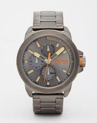 Серебряные наручные часы BOSS Orange New York - Серый