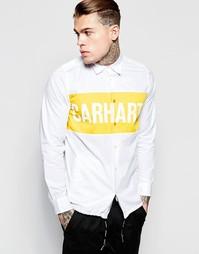 Классическая рубашка с карманами и шнурком Carhartt WIP Shore - Белый