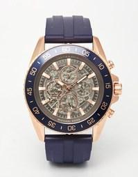 Часы с хронографом и силиконовым ремешком Michael Kors Jetmaster MK902