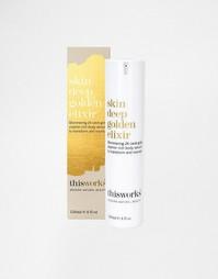 Средство This Works Skin Deep Golden Elixir, 120 мл - 24 карат