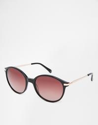 Круглые солнцезащитные очки Ted Baker Ariane - Черный