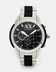 Часы из нержавеющей стали Armani Exchange Coronado AX1214 - Черный