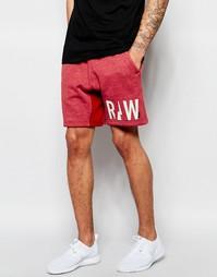 Трикотажные шорты G-Star Netrol - Сухой красный