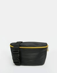 Черная сумка-пояс с перфорацией Mi-Pac - Черный