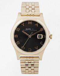 Часы с черным циферблатом Marc Jacobs The Slim MBM3315 - Черный