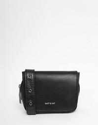 Черная сумка‑пояс Matt & Nat - Черный