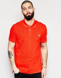 Футболка-поло с логотипом-зеброй Paul Smith Jeans - Красный