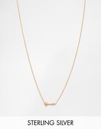 Позолоченное ожерелье Pieces & Julie Sandlau Jea - Золотой