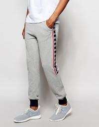 Спортивные брюки с застежкой на кнопки Kappa - Серый