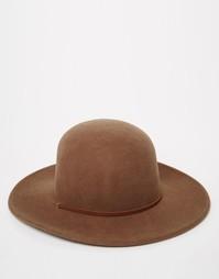 Шляпа Brixton - Коричневый
