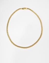 Ожерелье-цепочка якорного плетения Mister - Золотой