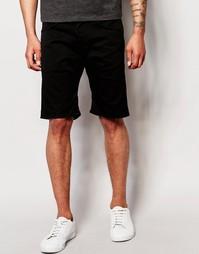Черные джинсовые шорты свободного кроя Edwin ED-55 - Rinsed black
