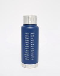 Термос на 10 унций Men's Society Water Bottles - Мульти