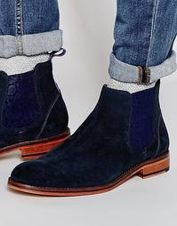 Замшевые ботинки челси Ted Baker Camroon - Синий
